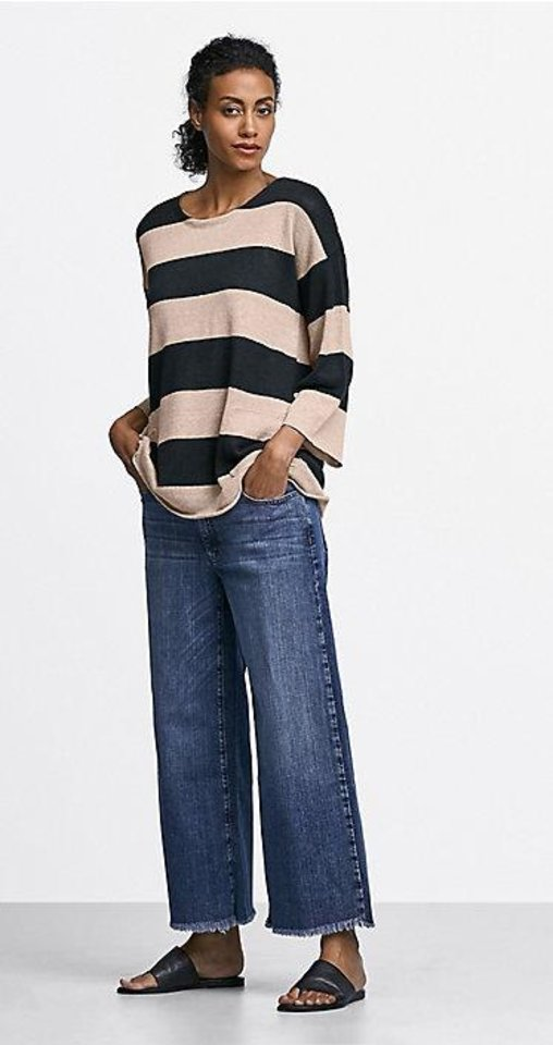 Photo - Eileen Fisher stripe top.