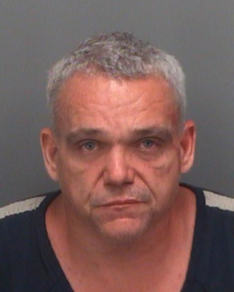 Photo -   This booking photo provided by the Pinellas County Sheriff's Office shows Anthony Giancola, 45, who was arrested Friday, June 22, 2012, after going on a rampage, stabbing several people — killing at least two — and then driving his car into a crowded porch before attacking two others at a motel, authorities said. (AP Photo/Pinellas County Sheriff's Office)