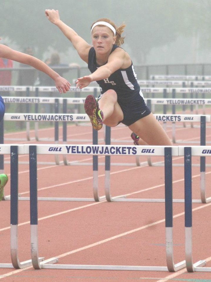 Kingfisher junior Mika Pinkerton won nine events last week. Photo provided