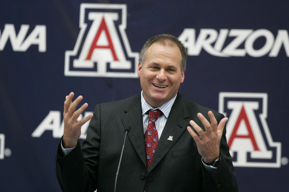 <b>2. RICH RODRIGUEZ, ARIZONA</b> <br />  Rich Rodriguez replaces Mike Stoops. RichRod didn't work out at Michigan, mainly for defensive reasons. But Rodriguez was top-notch at West Virginia. His offense should travel well to the desert and his defense shouldn't matter as much.