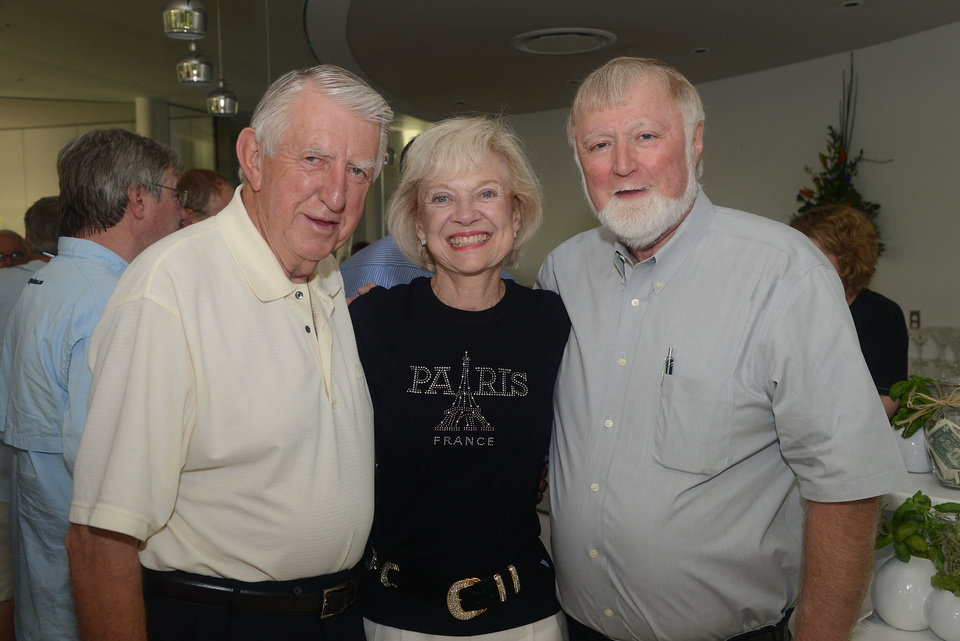 Herman, LaDonna and Bob Meinders. PHOTO BY DAVID FAYTINGER, FOR THE OKLAHOMAN <strong></strong>