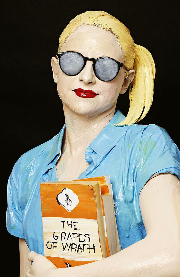 "Boo Ritson's ""Librarian."" Photo provided"