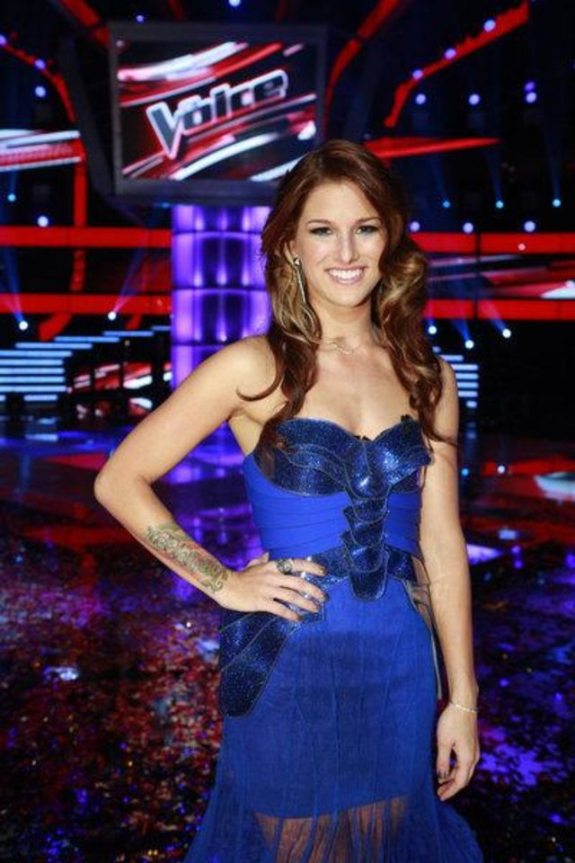 """Photo -  THE VOICE -- """"Live Finale"""" Episode 323B -- Pictured: Cassadee Pope -- (Photo by: Trae Patton/NBC)"""