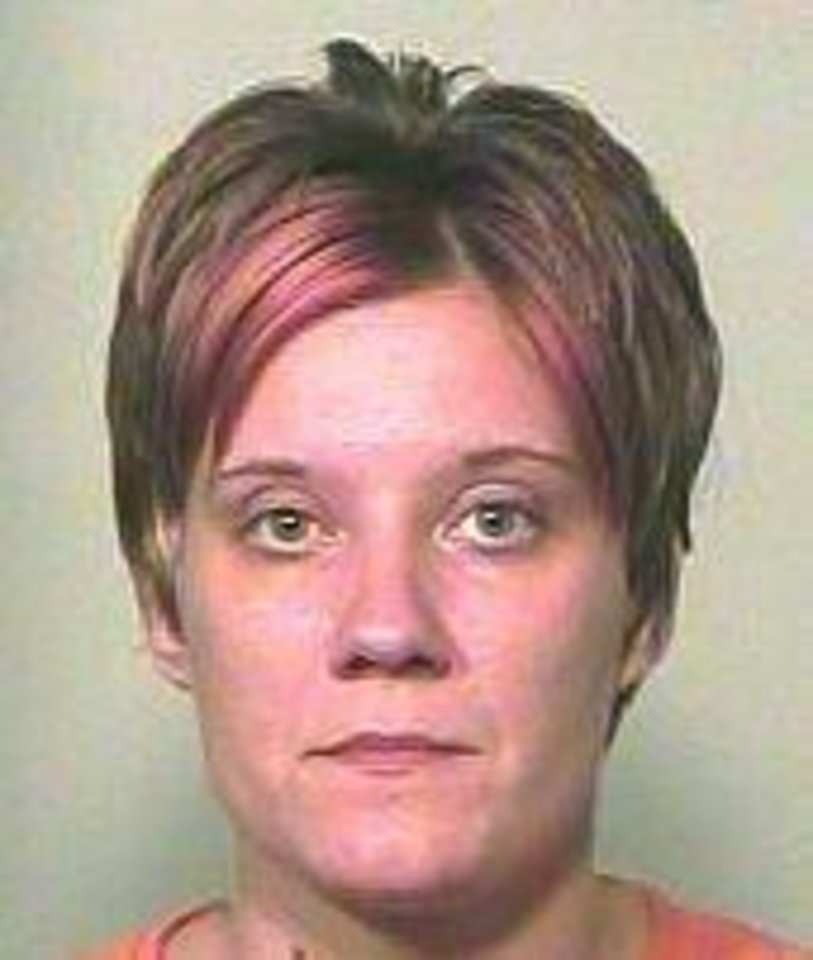 Dustie Dawn Trojack Seen in a 2009 jail mug shot
