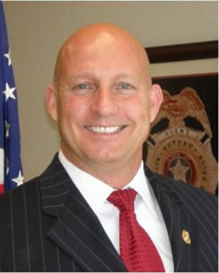 Photo - Darrell Weaver, director of the Oklahoma Bureau of Narcotics and Dangerous Drugs Control