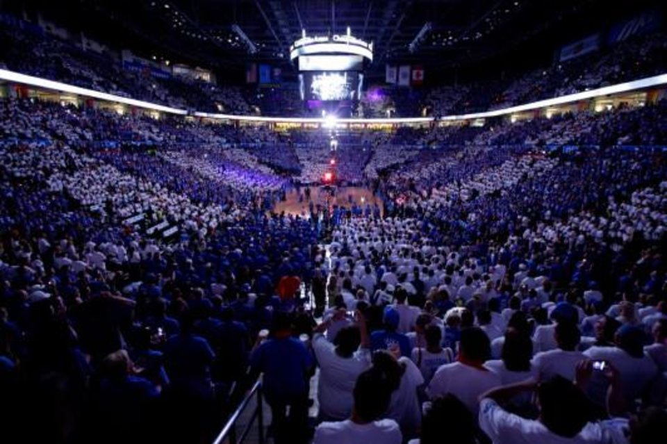 The Peake is widely considered one of the NBA\'s best environments. / Photo by Bryan Terry