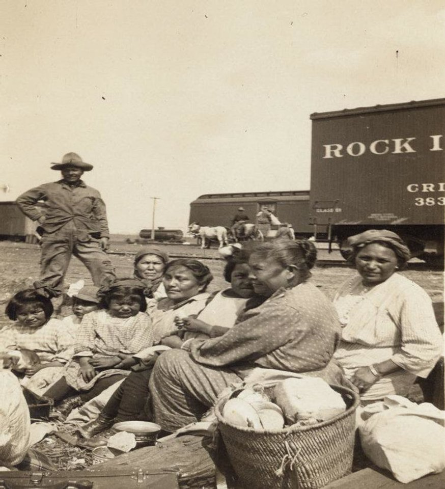 Photo - Fort Sill Apache Tribal members are descended from former prisoners of war at Fort Sill. The prisoners of war were released 100 years ago.  PROVIDED - PHOTO PROVIDED