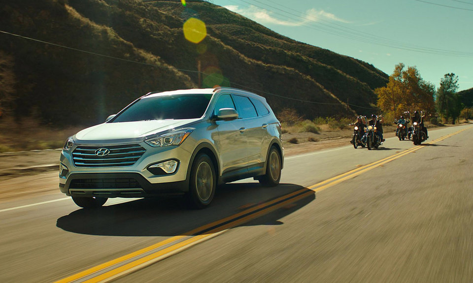 Photo - CORRECTS TO REFLECT PICTURED ADVERTISEMENT: This screen shot provided by Hyundai shows the Super Bowl advertisement by Hyundai Motor Group. AP Photo/Hyundai)