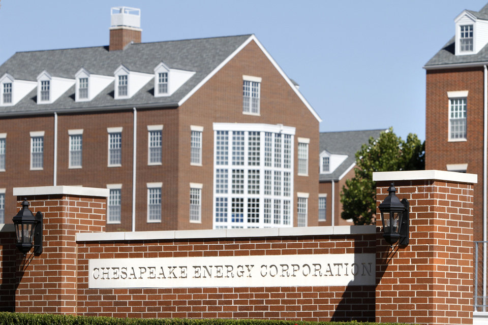 Photo - About 800 Chesapeake Energy laid off about 800 employees nationwide, including about 640 in Oklahoma City, Tuesday October 8, 2013. Photo By Steve Gooch, The Oklahoman