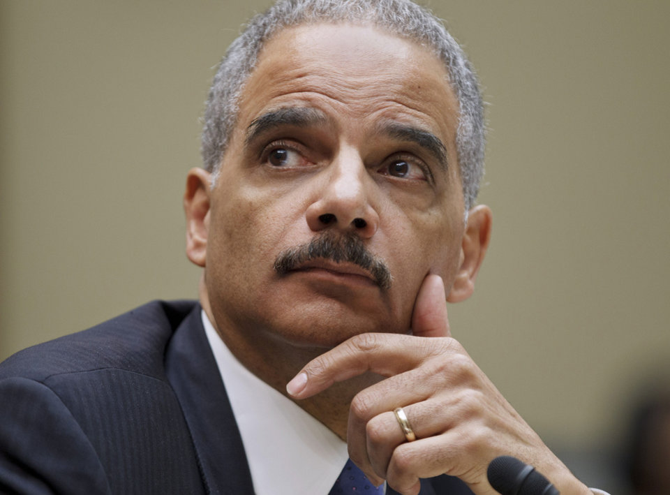U.S. Attorney General  Eric Holder Holder was found in  contempt in the investigation of the Fast and  Furious gun operation.