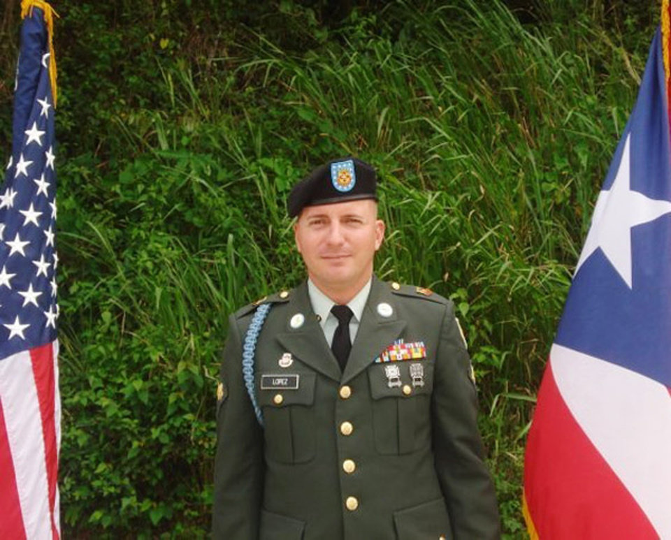 Photo - This undated photo provided by Glidden Lopez shows Army Spc. Ivan Lopez. Authorities said Lopez killed three people and wounded 16 others in a shooting at Fort Hood, Texas, on Wednesday, April 2, 2014, before killing himself. Investigators believe his unstable mental health contributed to the rampage. (AP Photo/Courtesy of Glidden Lopez)