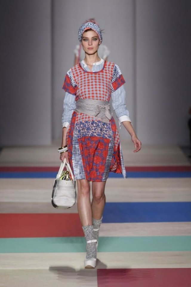 Photo -   In this photo provided by Marc Jacobs the Marc by Marc Jacobs Spring 2013 collection is modeled during Fashion Week in New York, Tuesday, Sept. 11, 2012. (AP Photo/Marc Jacobs)