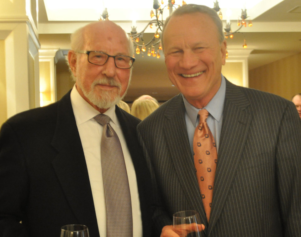 Gene Rainbolt and Barry Switzer.
