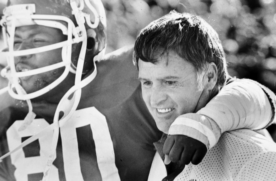 Photo - First win of 1978 season: Oklahoma State University (OSU) football coach Jim Stanley