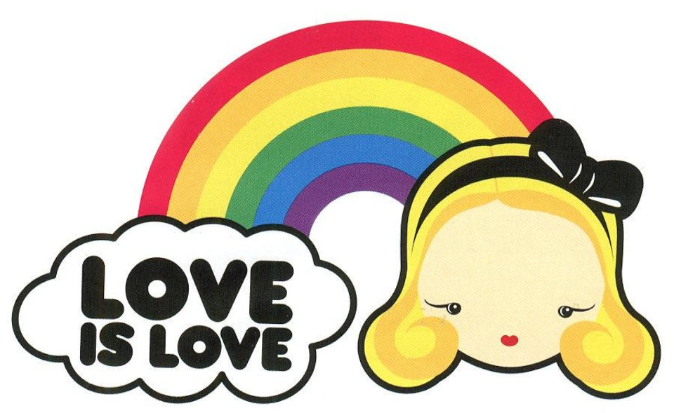 This logo from Target's Harajuku Mini line will be appearing on merchandise in stores later this month, according to a recent mailer. Photo provided