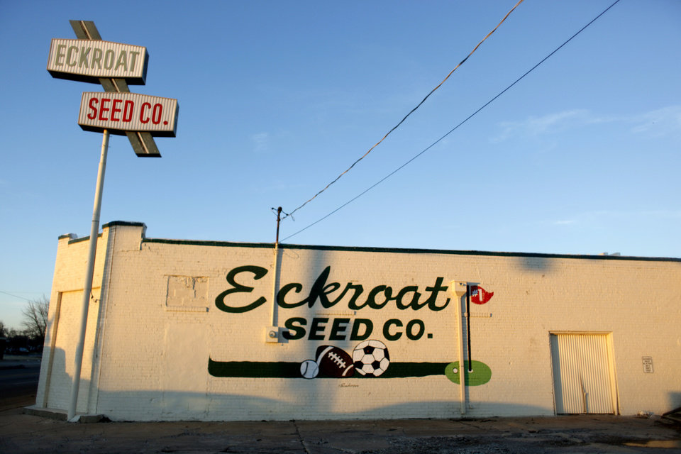 Eckroat Seed Company, 1106 North Martin Luther King Avenue, is pictured  in Oklahoma City, Okla., Monday, Jan. 11, 2010. Photo by Sarah Phipps, The Oklahoman