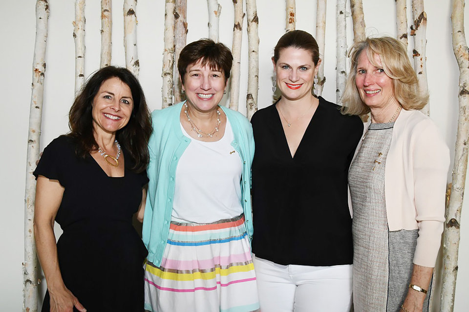 Photo - Lisa Richardson, Louise Valuck, Whitney Moss, Anne Gray. PHOTO BY FRAN KOZAKOWSKI