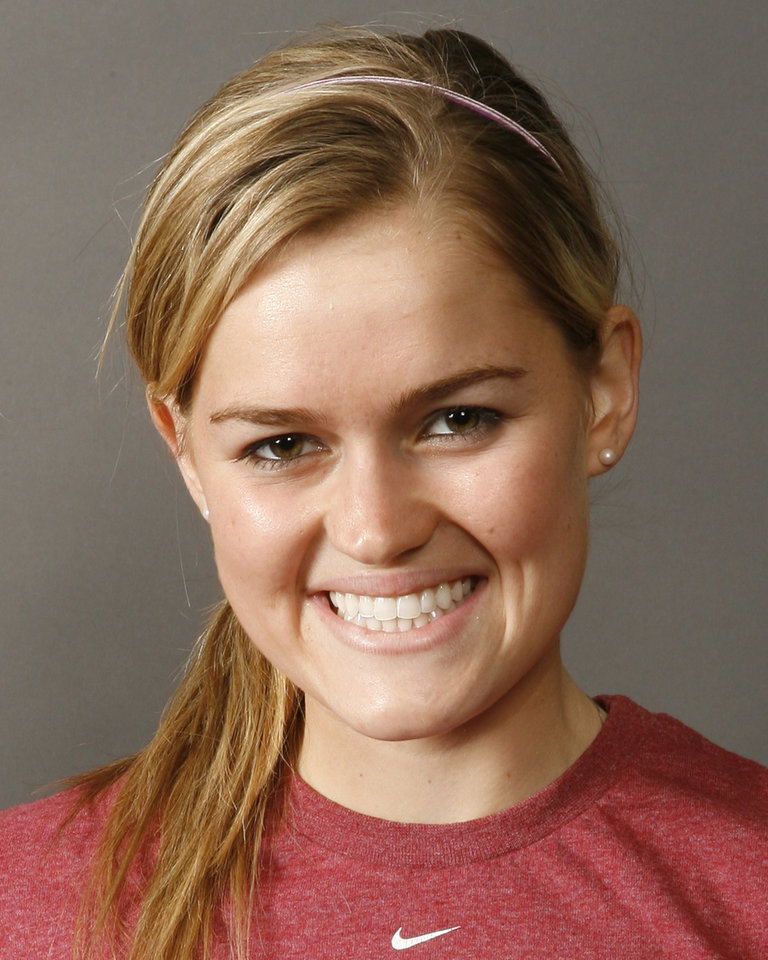 Peta Maree Lancaster, Bishop McGuinness, poses for a mug during the spring high school sports photo day in Oklahoma City, Wednesday, February 13, 2008. BY NATE BILLINGS, THE OKLAHOMAN