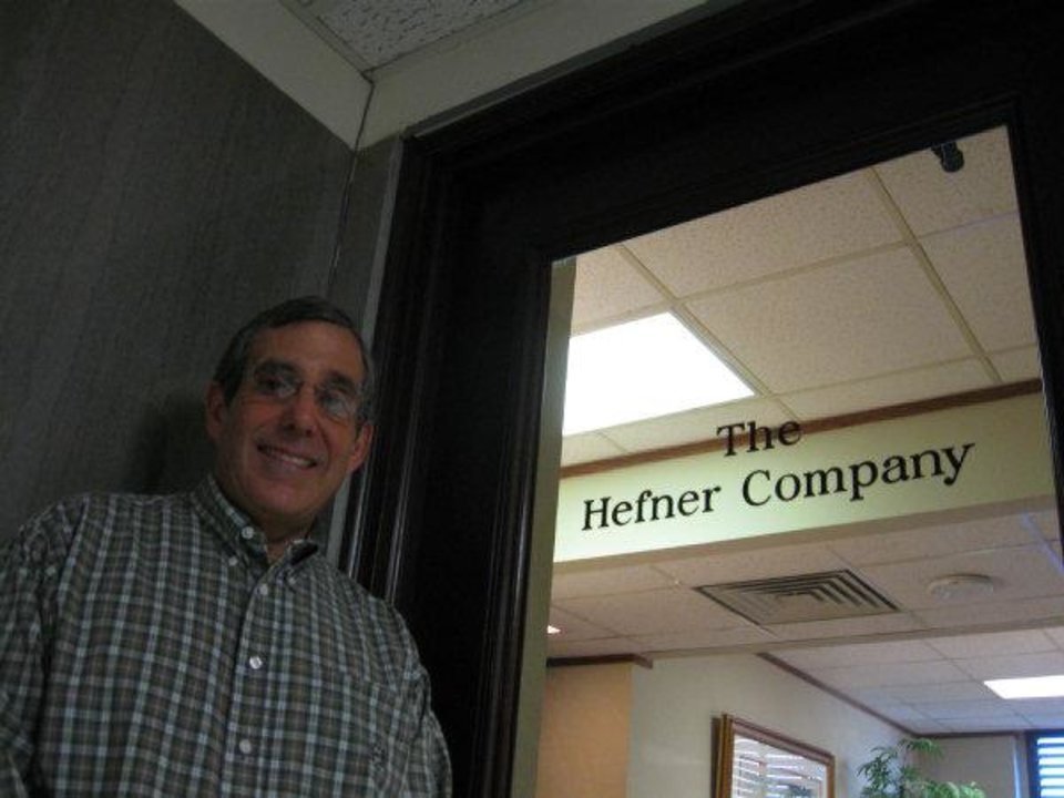 Photo - John Hefner's firm has been a tenant at First National Tower since 1999 but he is set to leave this spring after years of frustration with building owners and scares with the buildings' elevators.  Steve Lackmeyer