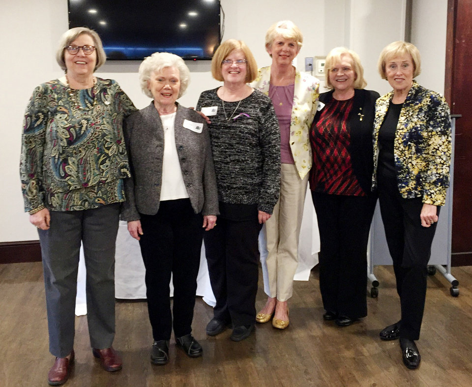 Photo - Donna Jackson, Linda Wright, Sherry Irvin, Diana Sarber, Elaine Weatherford and Ella Sprung. PHOTO PROVIDED