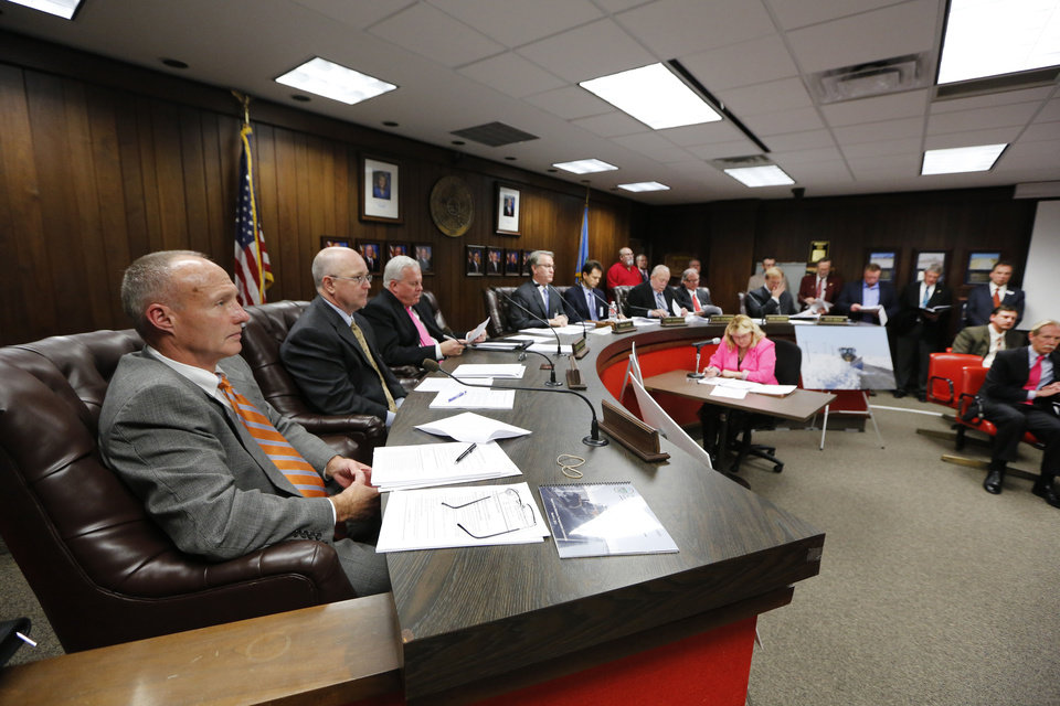 The Oklahoma Transportation Commission meets  Monday in Oklahoma City.  Photo By Steve Gooch, The Oklahoman <strong>Steve Gooch - The Oklahoman</strong>