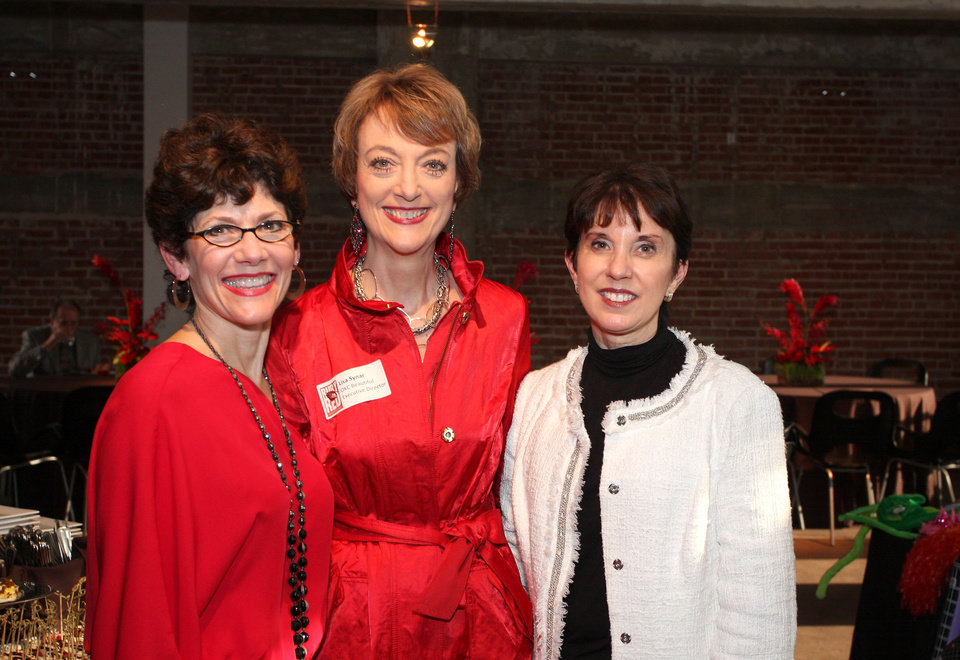 Photo -  Cindi Shelby, Lisa Synar and Mary Pointer also joined the celebration.