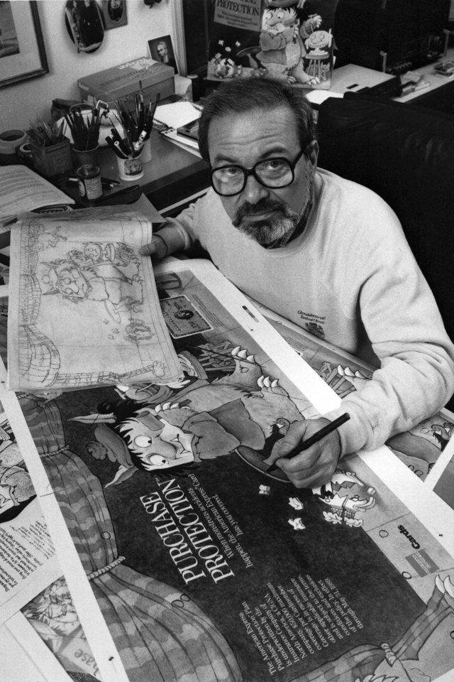 Photo -   FILE - In this October 1988 file photo, author Maurice Sendak, creator of the best-selling children's book