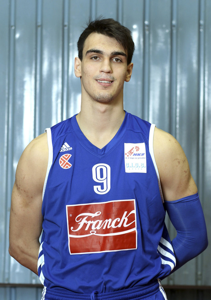 Photo -  Dario Saric, Croatian forward  Was expected to be a late lottery pick. And with his talent and size, he still could be. But less than a week before the draft, Saric tossed in a monkey wrench. ESPN reported on Monday morning that Saric agreed in principle to a deal with a Turkish team and will stay overseas for at least two more seasons. In a draft ripe with immediate impact players, that sours his stock a bit. And because of that, it's possible he falls to OKC, a franchise that has always maintained a steady eye on the future. (AP Photo/Club Cibona, Goran Jakus)