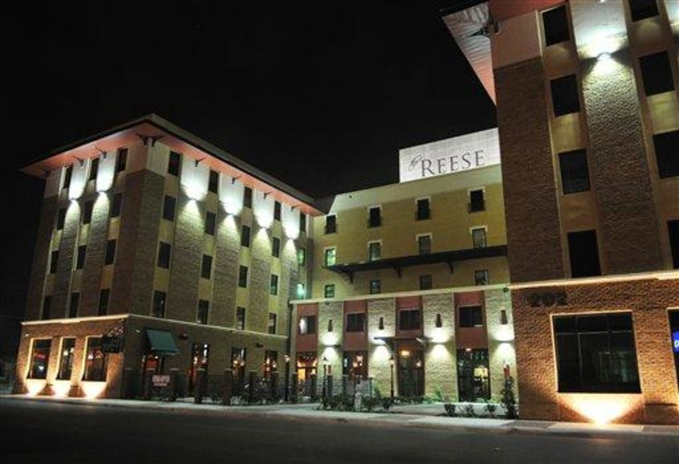 This undated photo shows the Reese Hotel in Harlingen, Texas.  The renovation of  the Reese drove a push to revive the city's historic Jackson Street district. (AP Photo/Valley Morning Star, Dina Arevalo)