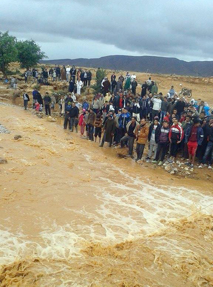 floods kill at least 32 in southern morocco news ok. Black Bedroom Furniture Sets. Home Design Ideas