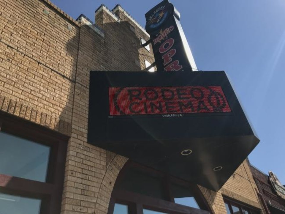 Photo -  Rodeo Cinema is at 2501 Exchange Ave. in the Stockyards City area of Oklahoma City. [Photo provided]