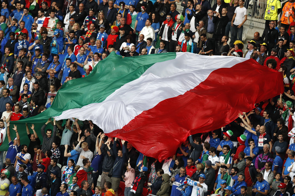 Fans Show Out For Euro