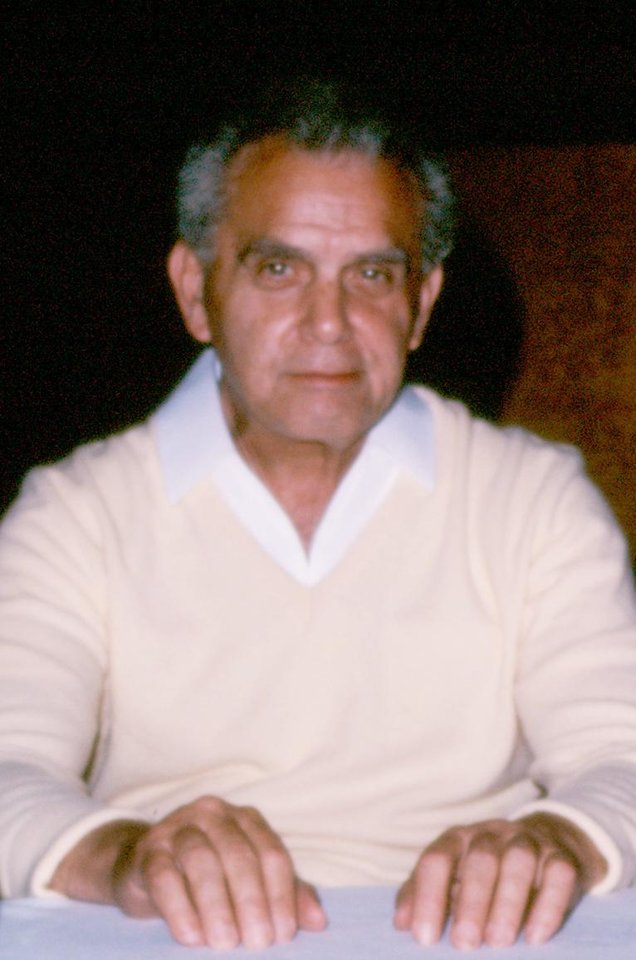 Photo -  A 1980s photo of Jack Kirby by Marc Hempel [Photo provided by www.kirbymuseum.org]