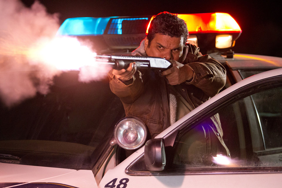 "Luis Guzman is shown in ""The Last Stand."" Lionsgate Photo <strong>Tony Rivetti Jr.</strong>"