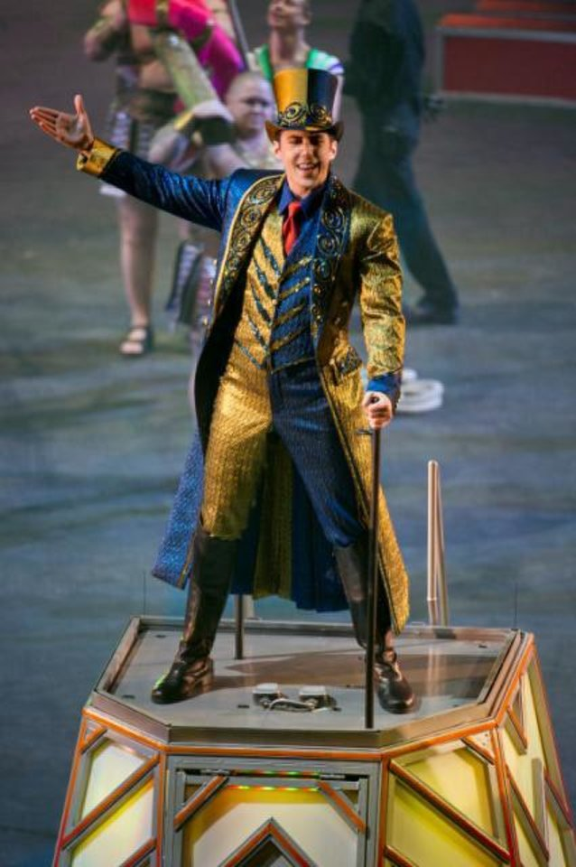 Photo - Brian Crawford Scott is just the 36th ringmaster in the 141-year history of Ringling Bros. and Barnum & Bailey circus.  Photo provided