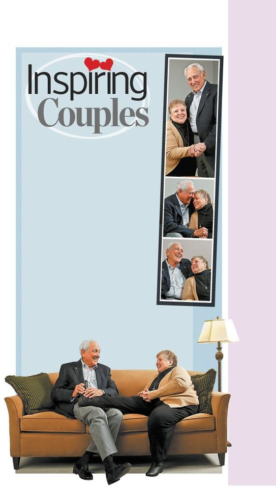 """Photo - Inspiring Couples GRAPHIC / ILLUSTRATION WITH PHOTOS 1-4: Emil """"Shorty"""" and Lola Huber say that their respect for each other has contributed to their marriage of more than 58 years. - PHOTOS BY CHRIS LANDSBERGER, THE OKLAHOMAN"""