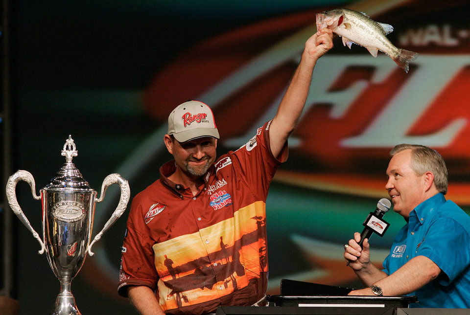 George Cochran, the only person to win a Bassmaster Classic and a FLW Championship, will teach a Bass Fishing Techniques class at Rose State College in Midwest City this month. AP ARCHIVE PHOTO
