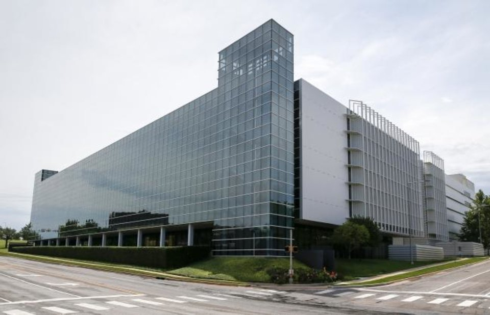 Photo -  Chesapeake Energy's 129,920-square-foot Building 13, built in 2009 at 900 NW 63, has been offered for lease for a year and remains totally vacant, according to Price Edwards & Co. [NATE BILLINGS/THE OKLAHOMAN ARCHIVES]