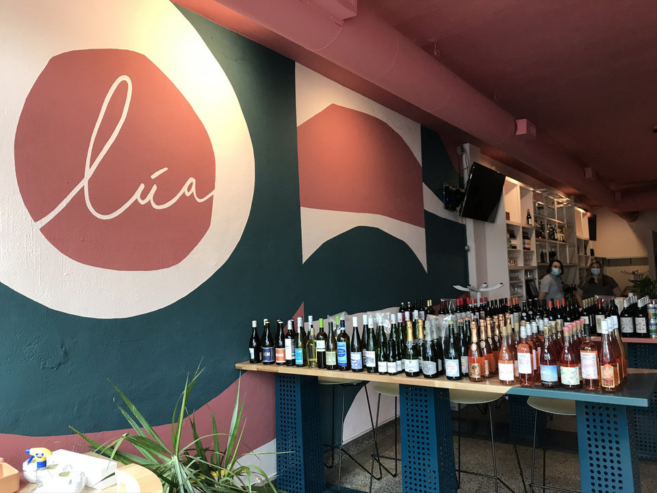 Photo - Lua, a new Mediterranean tapas bar is currently open for wine and limited menu take-out. [Dave Cathey/The Oklahoman]