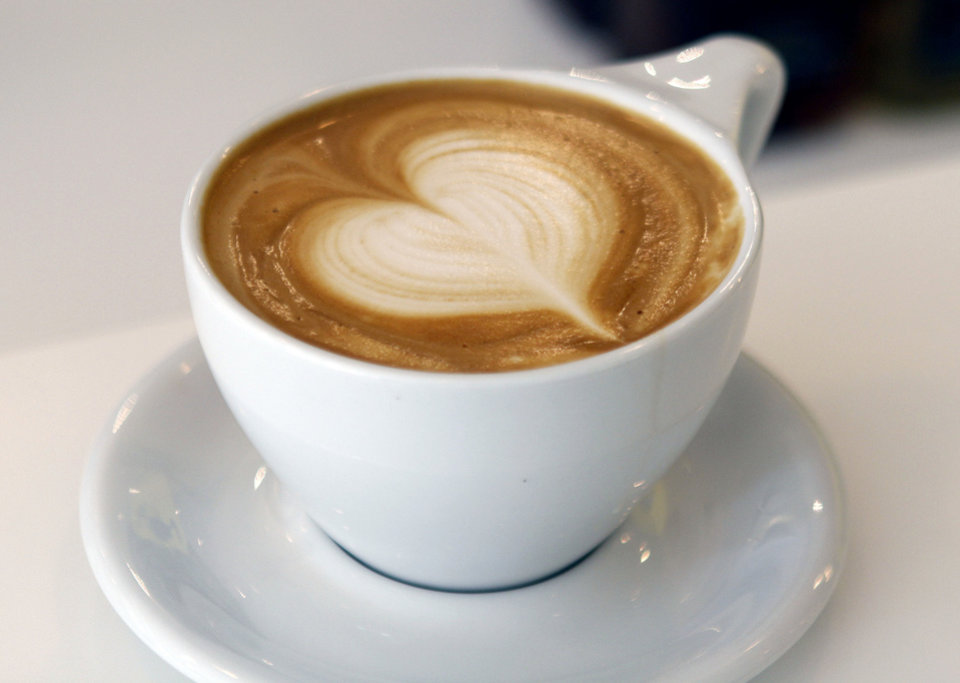 Gourmet coffee is one of life's little luxuries many Americans say they won't give up. Photo by Paul Hellstern, The Oklahoman <strong>PAUL HELLSTERN</strong>
