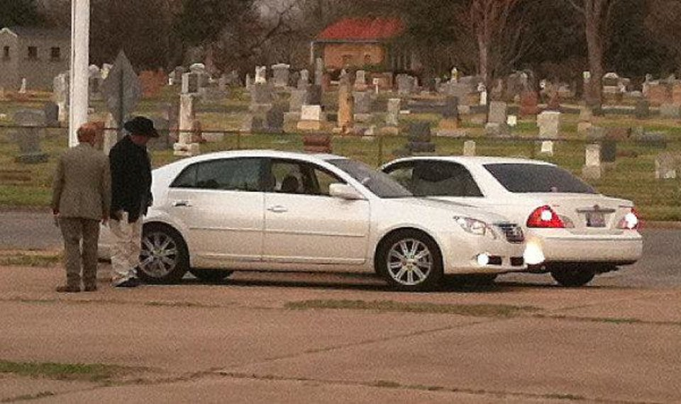 Two people died Tuesday in a shooting at NW 26 and Western Ave. One body was found in each car, authorities said. <strong>The Oklahoman - Chris Landsberger</strong>