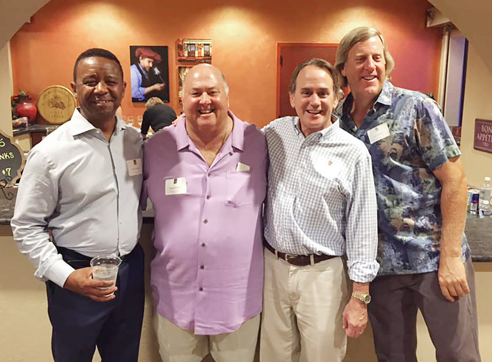 Photo - Steve Pickett, Bill McFall, Doug Franklin and Joe Hodges. PROVIDED PHOTO