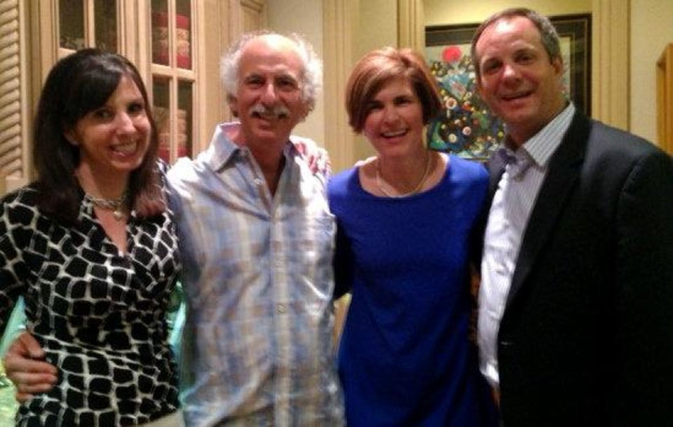 Photo - Karen Goolsby, Gary Rahill, Anna and George Browning. PHOTO PROVIDED