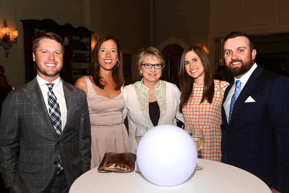 Photo -  Jordan Cook, Katheryn and Debbie Johnson, Kendall Brown, Ben Blundell.