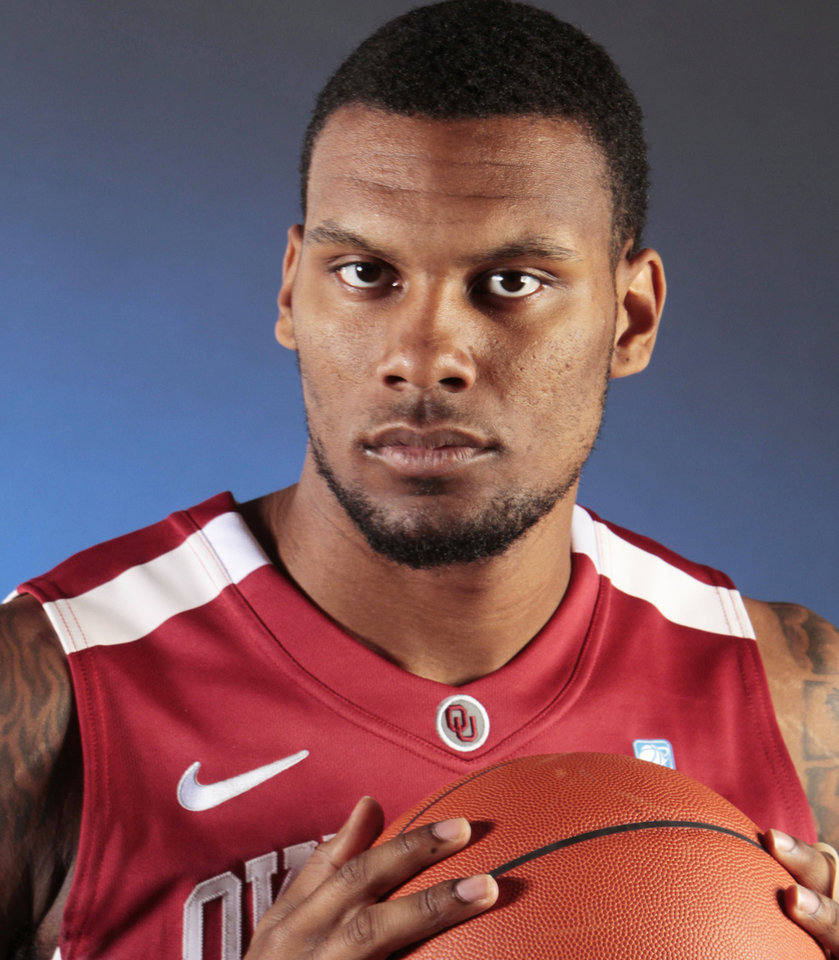 COLLEGE BASKETBALL: University of Oklahoma (OU) Men's basketball player Romero Osby (24) at the Lloyd Noble Center on Friday, Oct. 28, 2011, in Norman, Okla.    Photo by Steve Sisney, The Oklahoman ORG XMIT: KOD