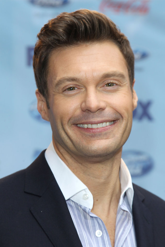Photo - This image released by Starpix shows Ryan Seacrest during a news conference for