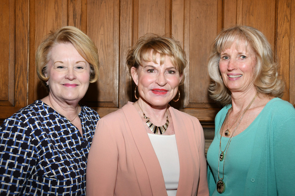 Photo - Connie Weber, Trish Winnard, Anne Gray. PHOTO BY FRAN KOZAKOWSKI