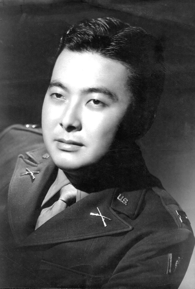 FILE - In this undated photo provided by the 442nd Veterans Club, Sen. Daniel Inouye, D-Hawaii, is shown in uniform when he was a member of the Army's 442nd Regimental Combat Team, made up almost entirely of Japanese-Americans during World War II. Inouye, the influential Democrat who broke racial barriers on Capitol Hill and played key roles in congressional investigations of the Watergate and Iran-Contra scandals, died of respiratory complications, Monday, Dec. 17, 2012, according to his office. He was 88. (AP Photo/442nd Veterans Club, File)