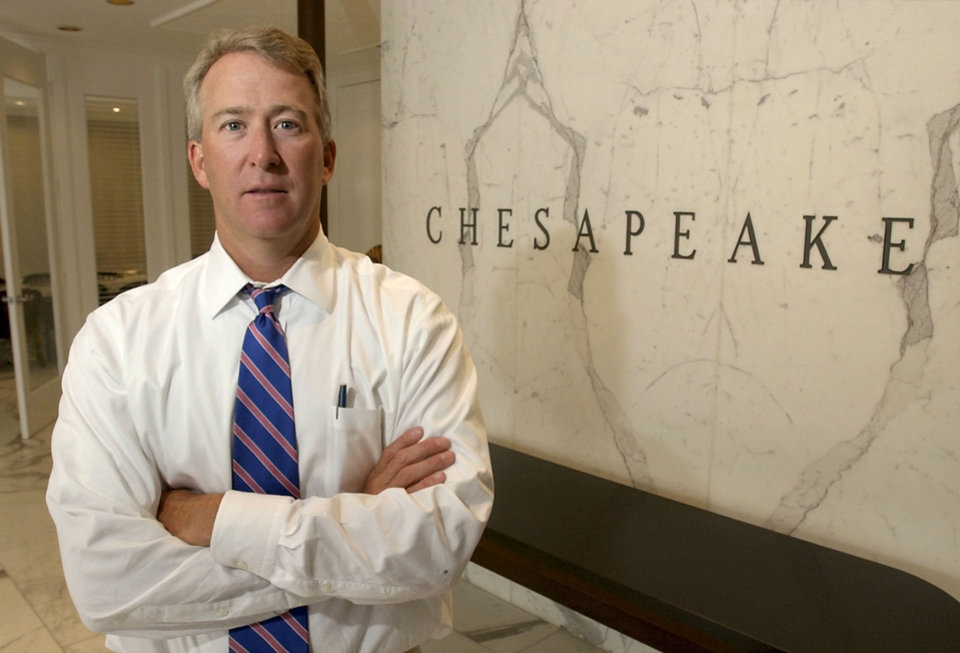 Photo - Aubrey McClendon is the former chief executive and director of Chesapeake Energy Corp. Photo by Nate Billings, The Oklahoman Archives