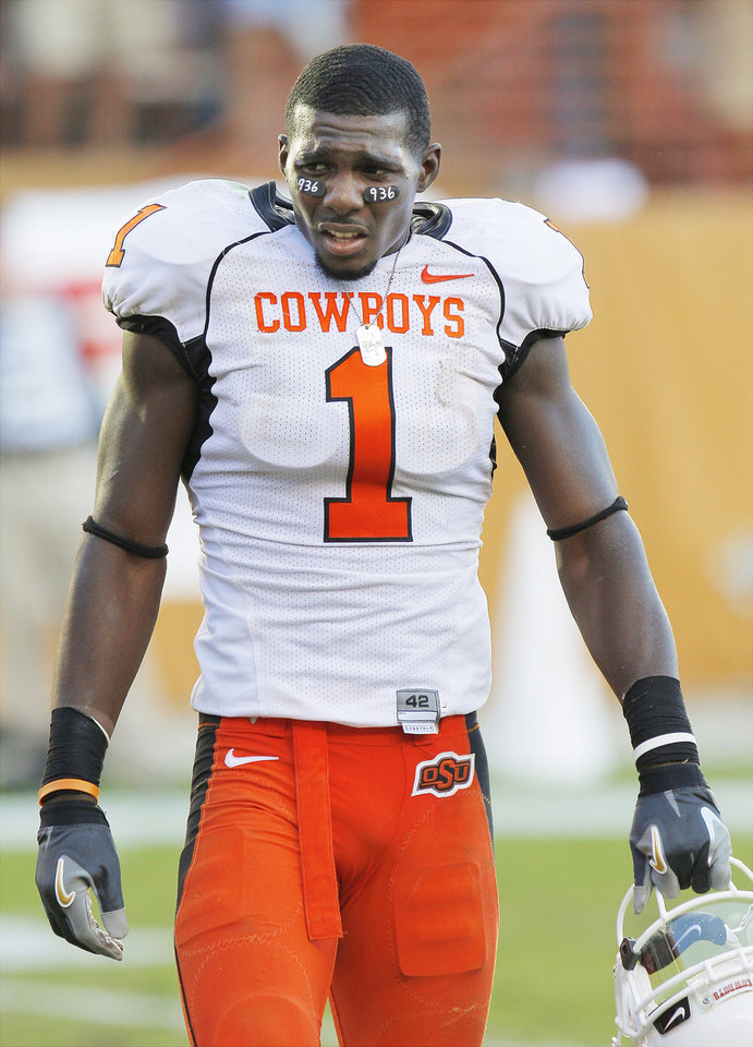 Photo - OSU All-American receiver Dez Bryant was suspended indefinitely by the NCAA. Photo by Doug Hoke, The Oklahoman